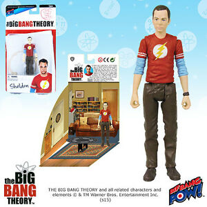The-Big-Bang-Theory-Sheldon-in-the-Flash-T-Shirt-3-75-034-Figure-Series-1-LE-1408