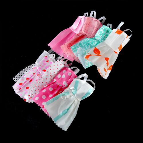 5Pcs Lovely Handmade Fashion Clothes Dress for  Doll Cute Party Costume BHFH