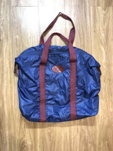 Vintage Yves Saint Laurent Tote Bag Blue