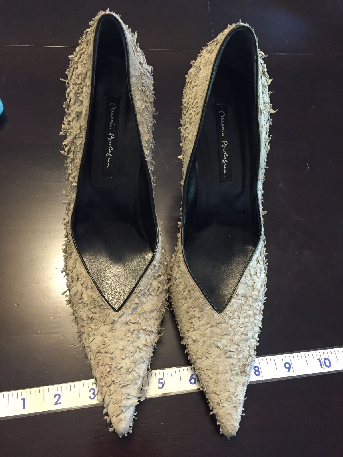 6a00b2c6178 MARIO PROLOGUE WOMAN WOMAN WOMAN HIGH HEELS FORMAL MADE IN ITALY US SIZE 8  EU 38 7fb7a0