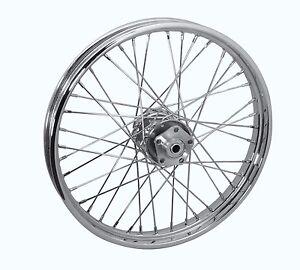 complete front 21x2 15 40 spoke wheel   harley davidson fl