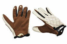 CHARGE OVEN GLOVES ,BMX,MOUNTAIN BIKE MTB CYCLING GLOVES BROWN SMALL 66% OFF
