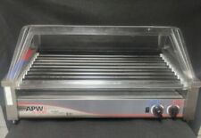 Apw Wyott Hrs 50s Hot Dogsausage Roller Grill 30 12w Slant Top Amp Sneeze Guard