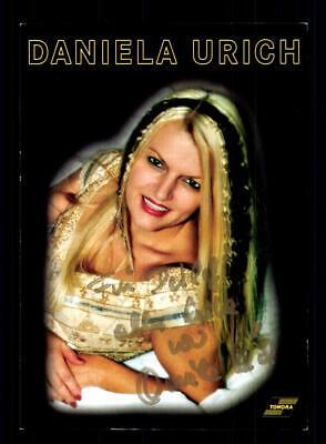 2019 Neuestes Design Daniela Urich Autogrammkarte Original Signiert ## Bc 147139 Original, Nicht Zertifiziert
