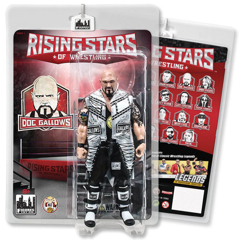 Rising Stars of Wrestling Action Figure Series  Doc Gallows