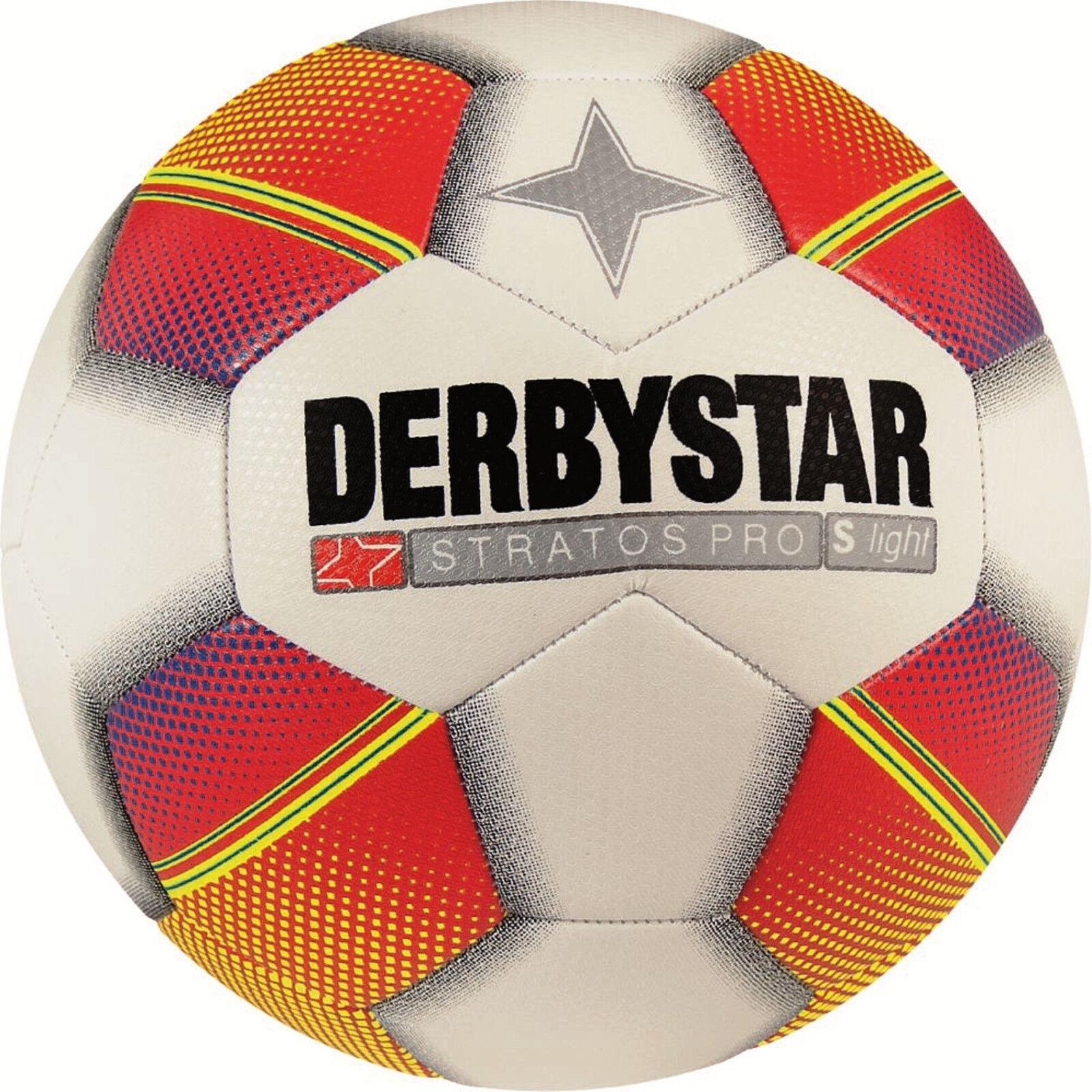 Ballpaket 10x Derbystar Jugendfußball Stratos PRO S-Light ca. 290g Größe 3