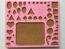 Quilling Template Board Papercraft Tool Scrapbooking Paper Craft Stencil Mold