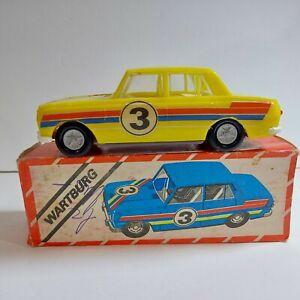 Wartburg Vintage Yellow Model Sports Car 1:30