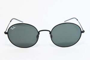 66b8a878fb0 RAY-BAN BEAT RB3594 9014 71 OVAL SUNGLASSES MATTE RUBBER BLACK 53-20 ...