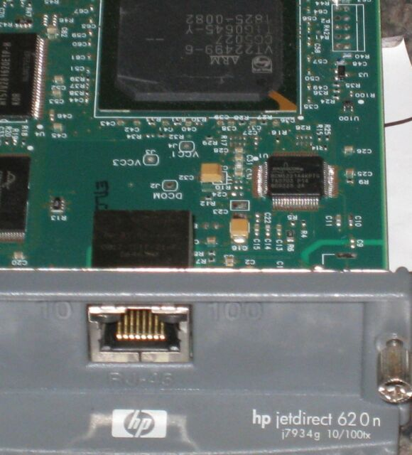 One 1 HP JetDirect 620N Ethernet Print Server J7934A 30 Days Warranty