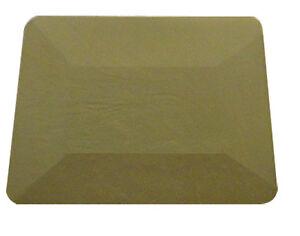 TEFLON BLUE SOFT HARD CARD SQUEEGEE Pro Window Tinting Tint Film Fitting Tool
