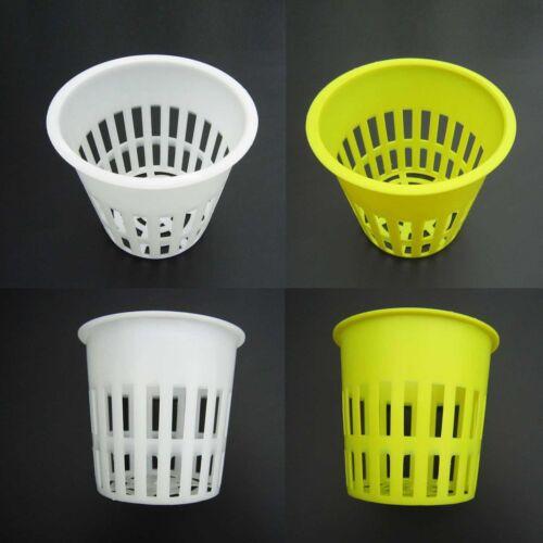 "10X Heavy Duty Maille pot Net Tasse Panier Hydroponique Aeroponic Plant Grow Clone 4/"""