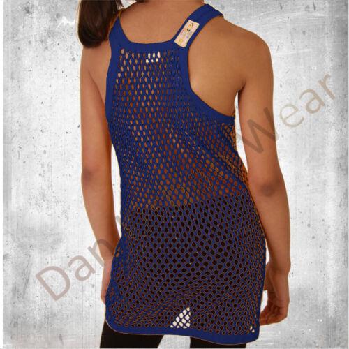 Children/'s Unisex String Vest T-shirt Muscle Vest Fishnet Mesh Summer 2-12 Yrs