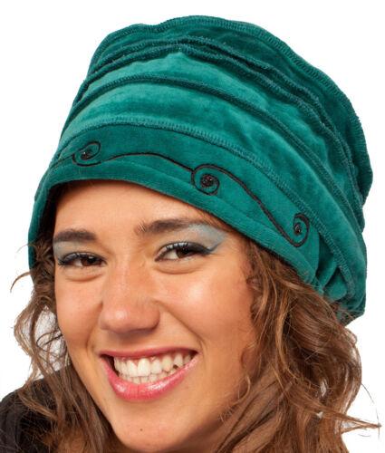 SLOUCHY VELVET BERET WOMEN/'S HAT tam Hat BEANIE hat PIXIE hat VELVET BEANIE