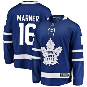 Men s Toronto Maple Leafs Mitch Marner Fanatics Blue Home Breakaway ... 7288a14f5