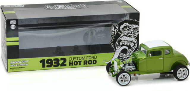 Greenlight Gas Monkey 1932 Custom Ford Hot Rod Limited Edition 1/18 (N22)