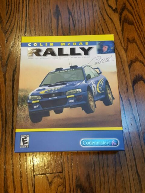 Colin McRae Rally for PC CD-ROM by Codemasters 1998