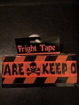15 Feet! Gags,Pranks- Halloween Messy Office Area Barricade Tape Danger