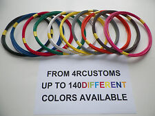 22 GAUGE TXL AUTOMOTIVE WIRE HIGH TEMP STRIPED WIRING ALSO AVAILABLE 16 18 20 22
