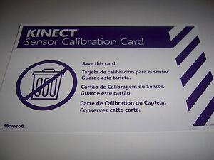 kinect calibration card print