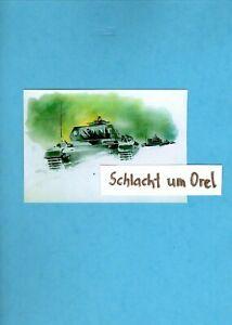 """WW 2 Kriegsberichte Abwehrsieg der Panzerarmee: """"Winterschlacht um Orel 1942/43"""""""