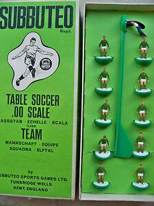 Subbuteo Team Hw Rf N.157 Mexique nommé boîte longue et joueurs État neuf