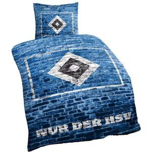 HSV-Bettwaesche-034-Mauer-034-135-x-200-cm-Hamburger-SV