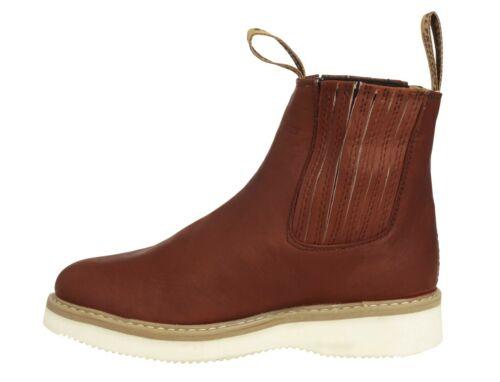 Mens Chedron Tough Durable Rubber Sole Anti Slip Boots Shoes Elastic Size 115
