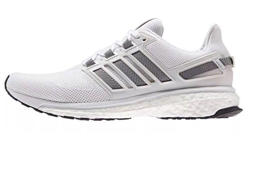 New Men's Adidas AQ5960 Energy Boost 3 White Gray  AQ5960 Adidas Size 7.5 ce2039