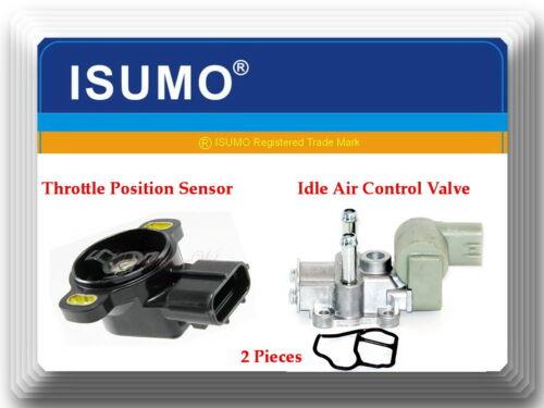 2 Pcs Idle Air Control Valve /& Throttle Position Sensor TPS Fits Paseo Tercel