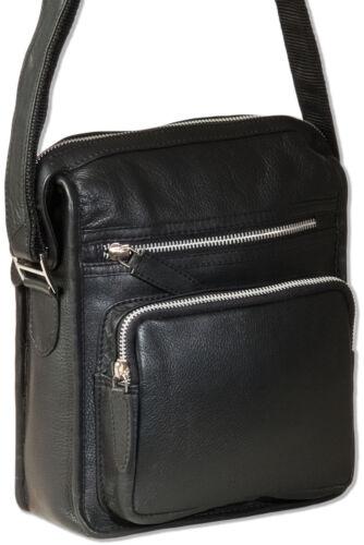 Rimbaldi® Luxus Umhängetasche naturbelassenen Leder Messenger aus feinem