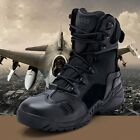 New Men Boots Military Tactical Desert Ankle Boots Breathable Army Combat Shoes