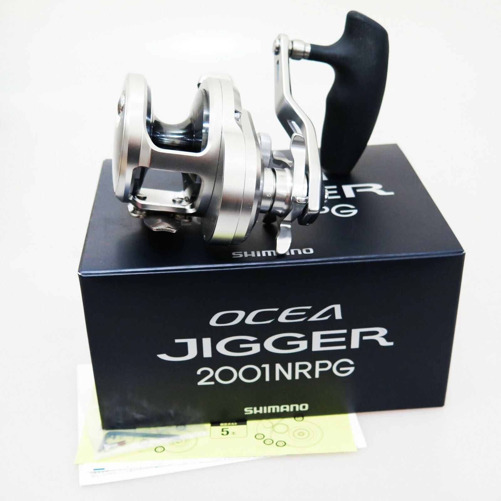 2017 NEW SHIMANO Ocea Jigger 2001NRPG reel MADE JAPAN Fedex Priority 2day to Us