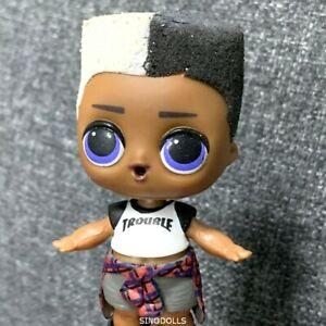 Original Outfit Cloth /& SHOES Accessories For Lol Surprise PUNK BOY Doll IT