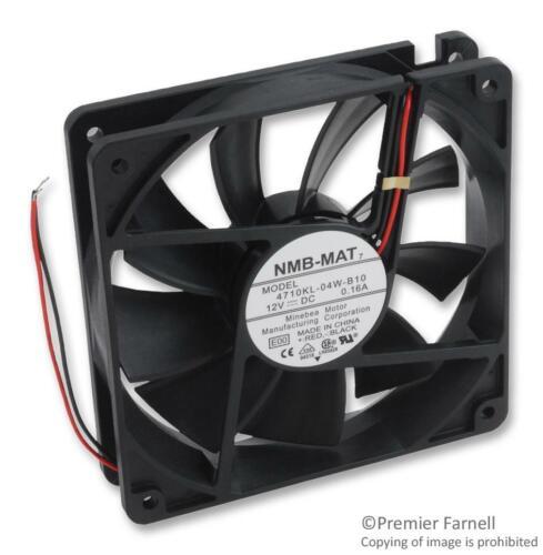 4710KL-04W-B10-E00 NMB TECHNOLOGIES 119MM 120mA AXIAL FAN 12VDC