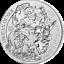Rwanda-2015-50-Francs-Cape-Buffalo-Bullion-Fabulous-15-1oz-BU-Silver-Coin thumbnail 1