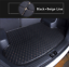 Handmade Leather Car Trunk Mat Cargo Liner Tray for Hyundai Genesis 2015-2018