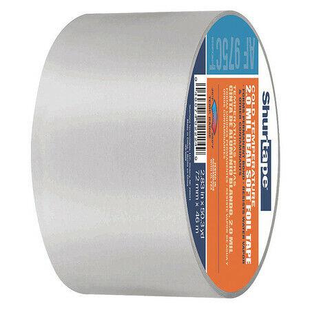 SHURTAPE AF 975CT Foil Tape,72mm x 46m,4.0 mil