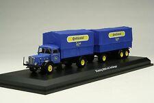 Schuco 1:43 / Continental Tires Buessing 8000 Land-Train Truck / # SHU03043