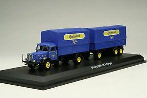 Schuco-1-43-Continental-Tires-Buessing-8000-Land-Train-Truck-SHU03043
