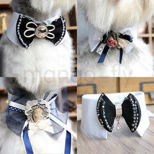 Fashion-Bowknot-Collar-Dog-Cat-Pet-Puppy-Kitten-Bow-Tie-Necktie-Collar-Clothes