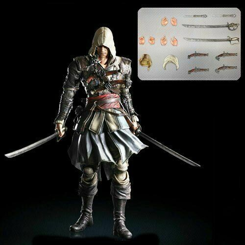 Square Enix Play Arts Kai Edward Kenway Assassin S Creed Action