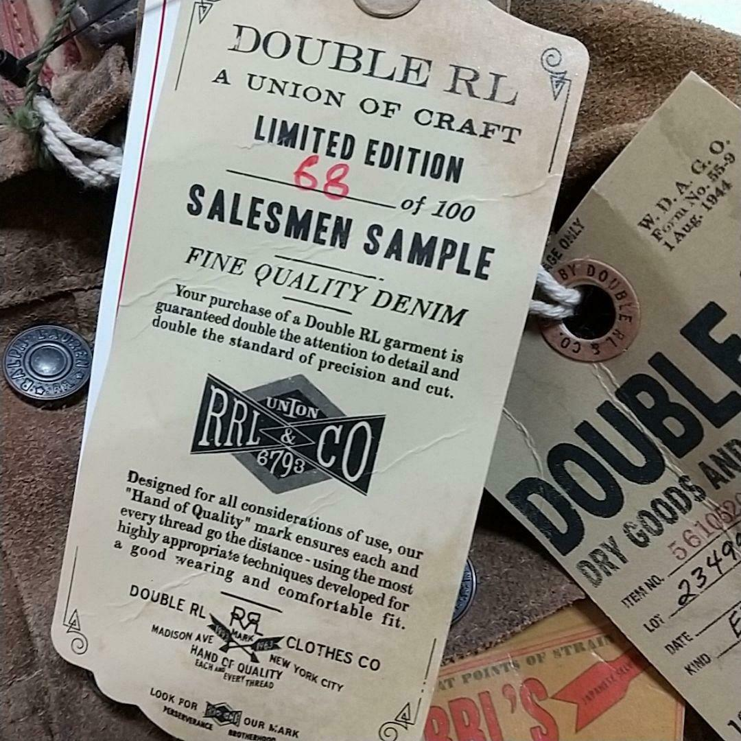 Rrl Limited Edition SSample Suede Jacket Free Shipping No.8104