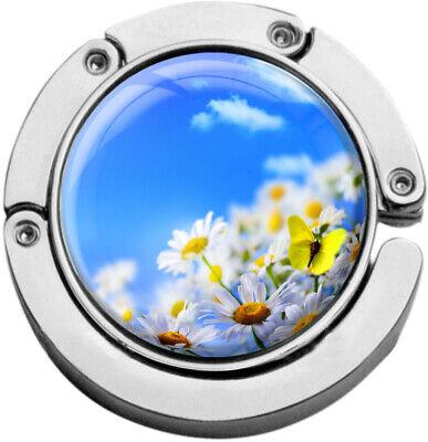 """Bello Metalum Tasche Laccio In Forma Circolare """"fiori Prato""""-er In Runder Form """"blumenwiese"""" It-it Mostra Il Titolo Originale"""