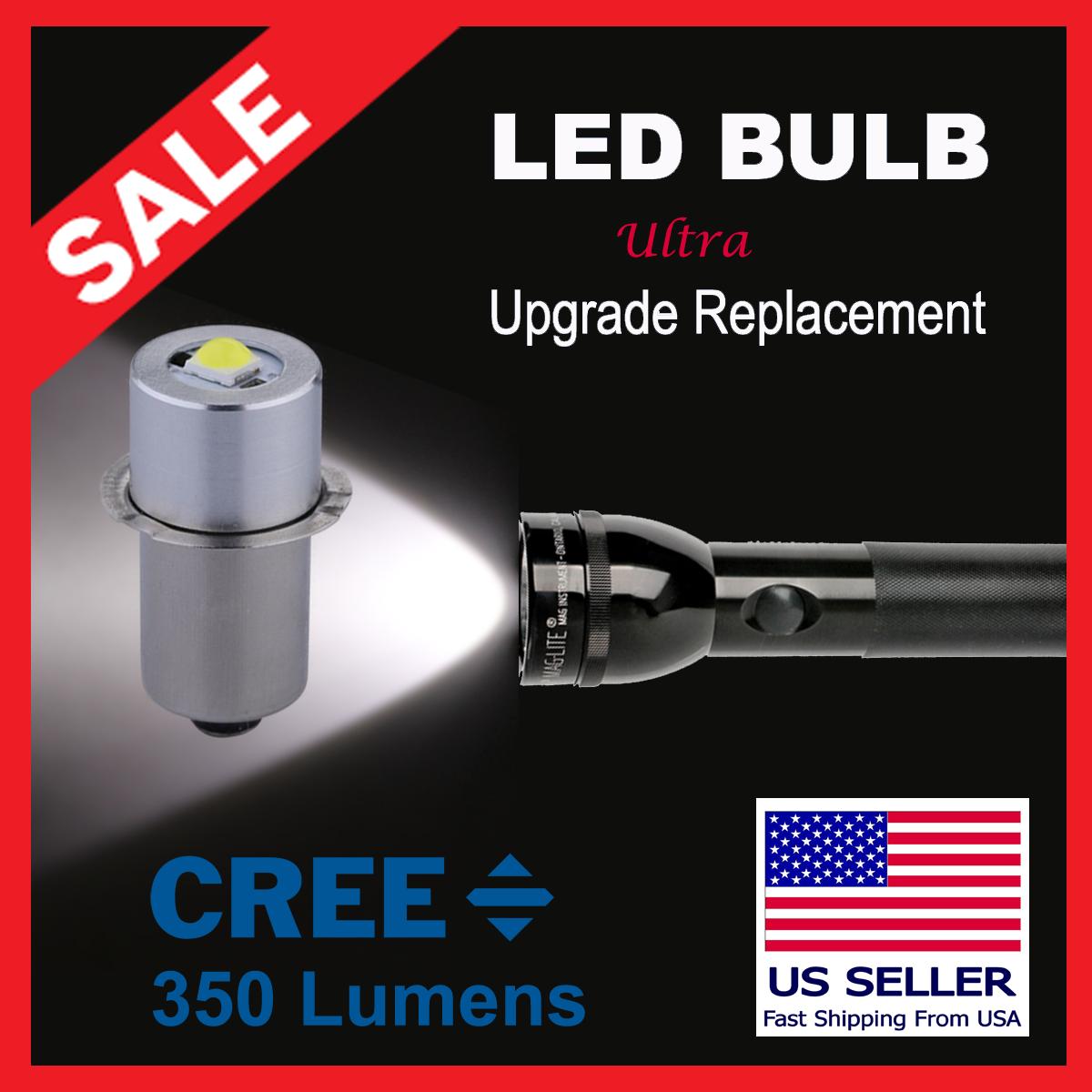 Led Upgrade Module Bulb For 2 Cell C Or D Maglite Flashlight Mag Lite For Sale Online Ebay