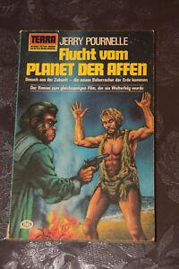 Terra-Science-Fiction-Jerry-Pournelle-Flucht-vom-Planet-der-Affen-SciFi