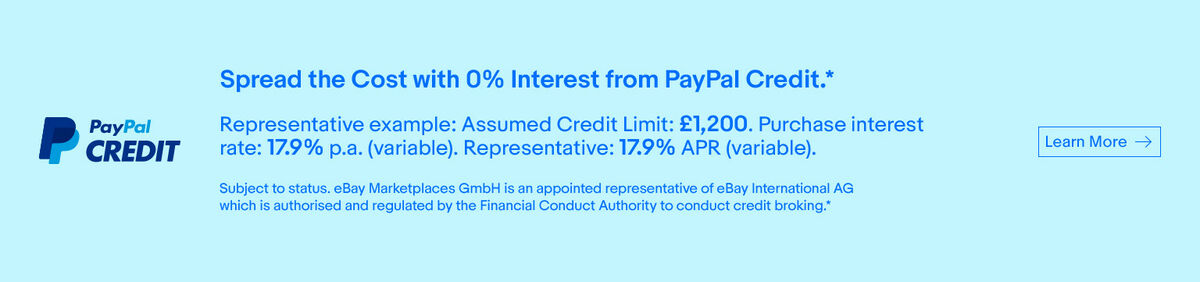 PayPal Credit offer