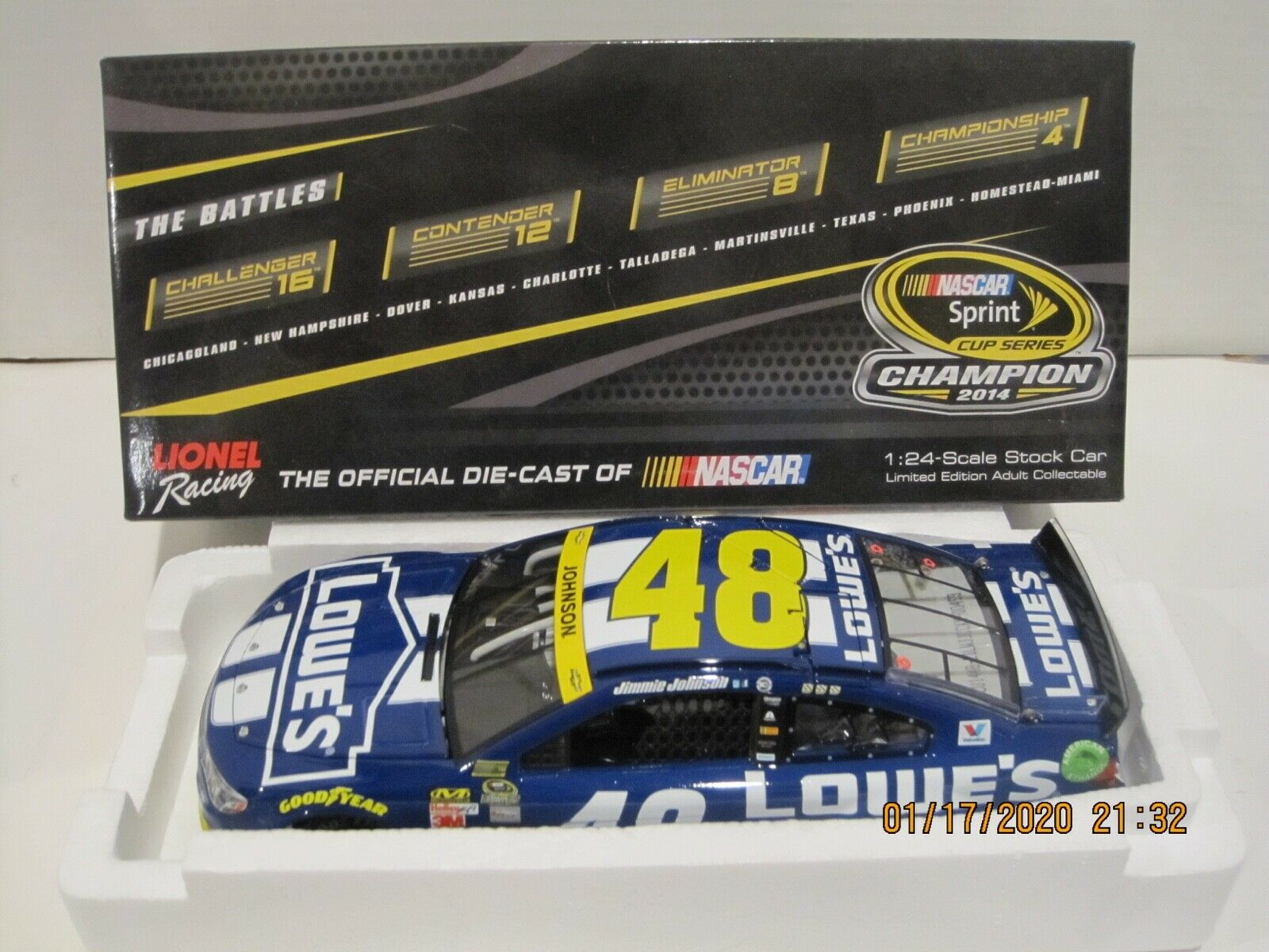 JIMMIE JOHNSON  48 2014 LOWES CHASE FOR THE CUP 1 24