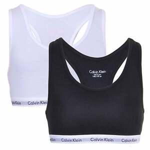 65245885658 Calvin Klein Girl s 2 Pack CK Modern Cotton Stretch Bralette