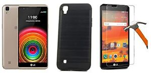 SLIM-HYBRID-CASE-TEMPERED-GLASS-FOR-SPRINT-VIRGIN-AND-BOOST-MOBILE-LG-TRIBUTE-HD